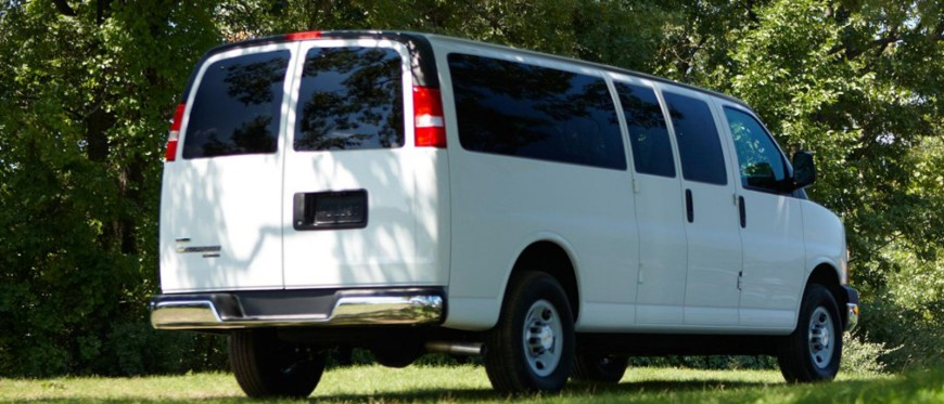12 Passenger Chevy Van